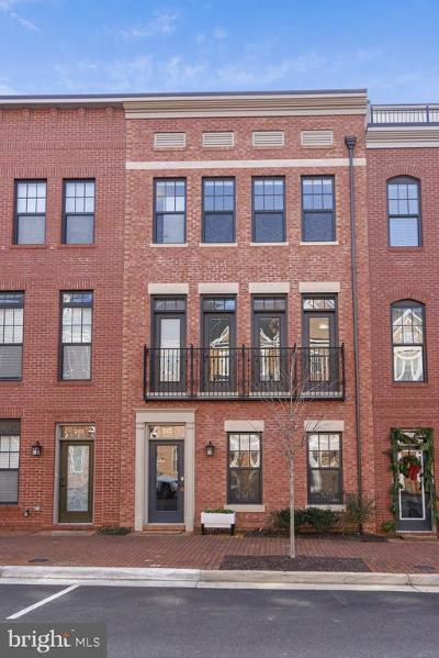 Leesburg Townhouse For Sale: 243 Crescent Station Terrace SE