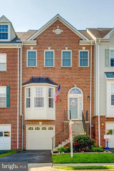 Leesburg Townhouse Under Contract: 616 SE Springhouse Square SE
