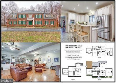 Purcellville Single Family Home For Sale: 19901 Colchester Road