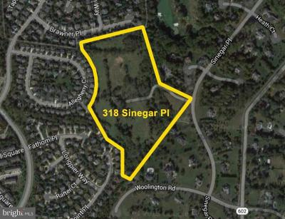 Great Falls Residential Lots & Land Active Under Contract: 318 Sinegar Place