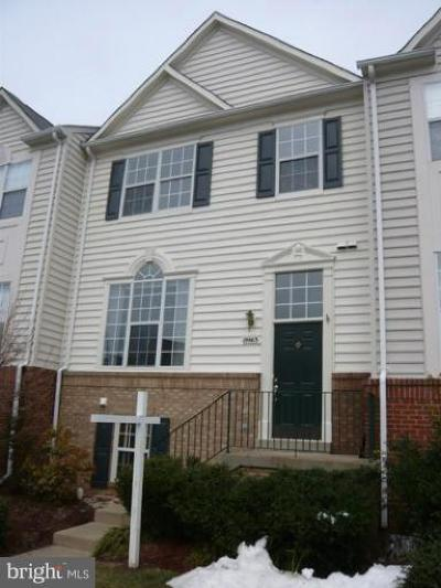 Ashburn Rental For Rent: 19863 Ridgecrest Square