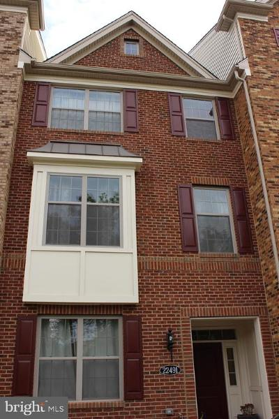 Ashburn Townhouse For Sale: 22491 Norwalk Square