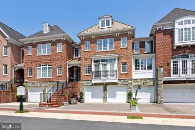 Leesburg Townhouse For Sale: 43476 Castle Harbour Terrace