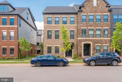 Brambleton Townhouse For Sale: 22291 Philanthropic Drive