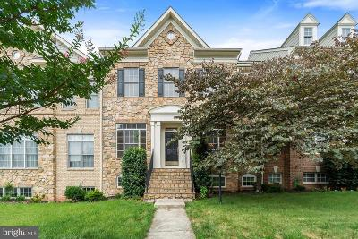 Leesburg Townhouse For Sale: 43493 Millwright Terrace