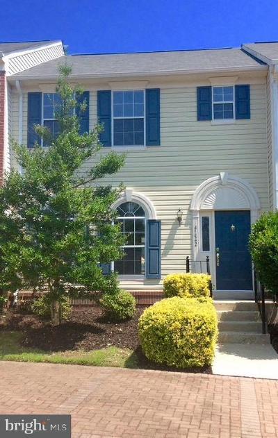 Ashburn Townhouse For Sale: 45042 University Drive