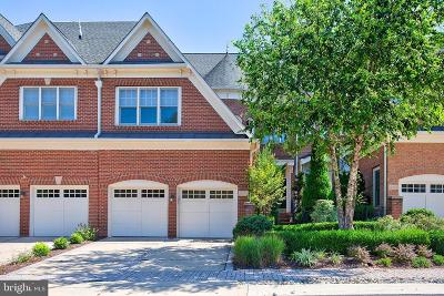Leesburg Townhouse For Sale: 18310 Fairway Oaks Square