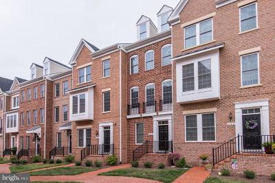 Leesburg Townhouse For Sale: 283 Train Whistle Terrace SE