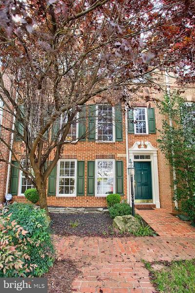 Leesburg Townhouse For Sale: 43805 Water Bay Terrace