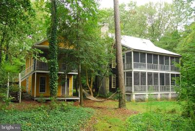 Single Family Home For Sale: 2387 Mosquito Point Road