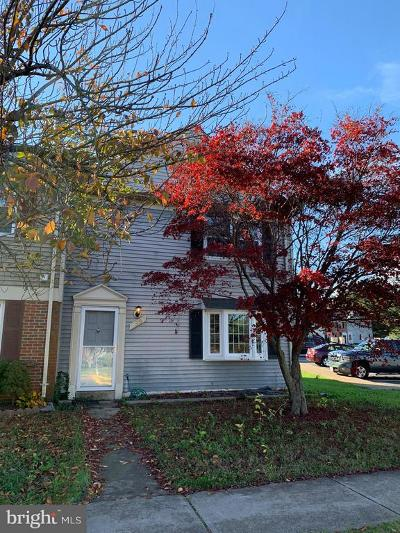 Manassas Townhouse Active Under Contract: 8592 Adamson Street