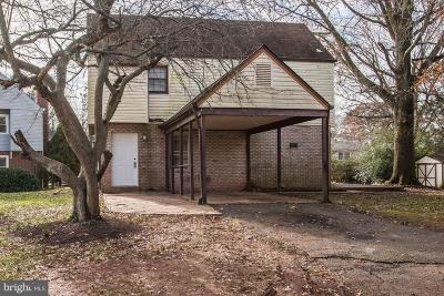 Manassas Single Family Home For Sale: 8622 Artillery Road
