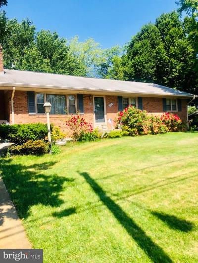 Manassas Single Family Home For Sale: 8902 Stonewall Road
