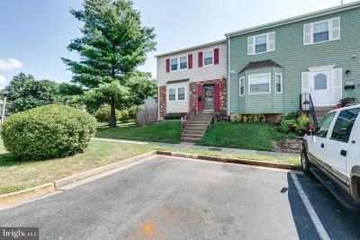Manassas Townhouse For Sale: 9029 Old Hickory Court