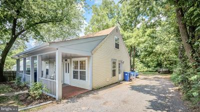 Manassas Single Family Home Under Contract: 104 Polk Drive