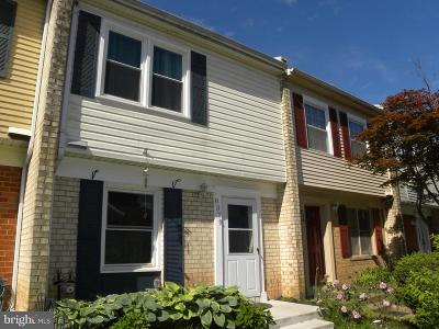 Manassas Townhouse For Sale: 8379 White Pine Drive