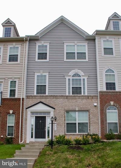 Manassas Park Townhouse For Sale: 9039 Belo Gate Drive