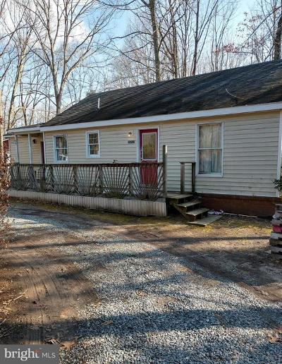 Unionville VA Single Family Home For Sale: $112,000
