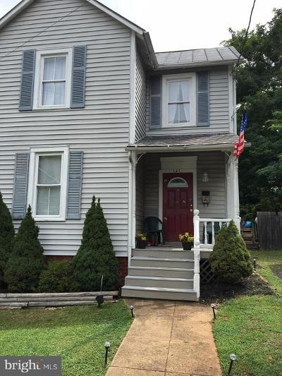 Orange VA Single Family Home For Sale: $162,000