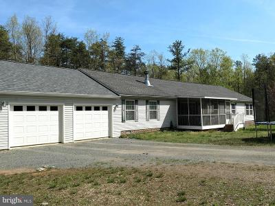 Culpeper Single Family Home For Sale: 27491 Big H Ranch