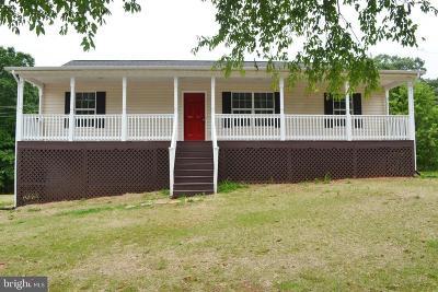 Rhoadesville VA Single Family Home For Sale: $259,900