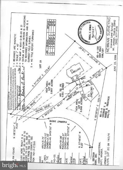 Orange County Residential Lots & Land For Sale: 136 Plank Road