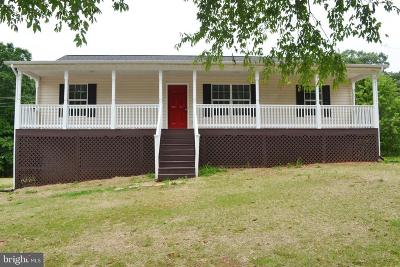 Orange County Single Family Home For Sale: 9486 Verdiersville Road