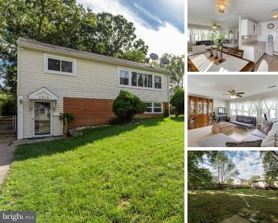 Single Family Home For Sale: 1713 Potomac View Avenue