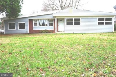 Manassas Single Family Home For Sale: 7896 Maplewood Drive