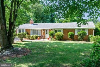 Manassas Single Family Home For Sale: 8415 Leland Road