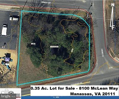 Manassas Residential Lots & Land For Sale: 8100 McLean Street