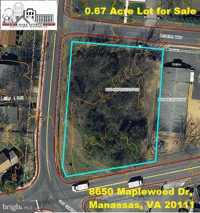 Manassas Residential Lots & Land For Sale: 8650 Maplewood Drive