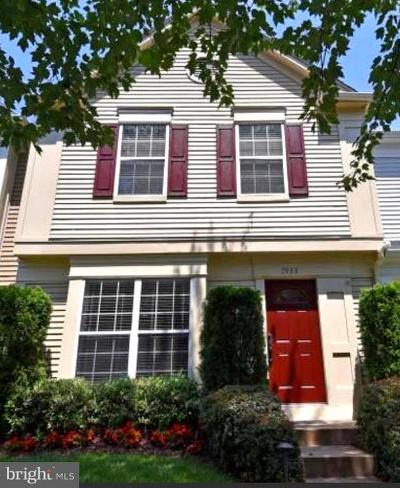 Manassas Townhouse For Sale: 7933 Rebel Walk Drive