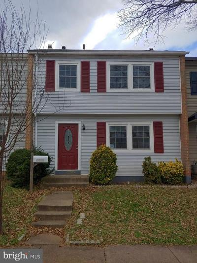 Manassas Townhouse For Sale: 7571 Quail Run Lane