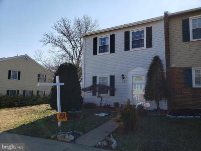 Woodbridge Townhouse For Sale: 4621 Whitaker Place