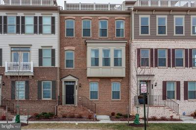 Dumfries Townhouse For Sale: 1729 Cottonwood Grove Road