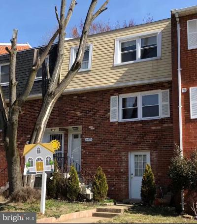 Dale City Townhouse For Sale: 14455 Filarete Street