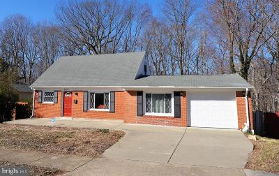 Woodbridge, Dumfries, Lorton Single Family Home For Sale: 3537 Forestdale Avenue