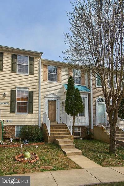 Woodbridge Townhouse For Sale: 14344 Madrigal Drive