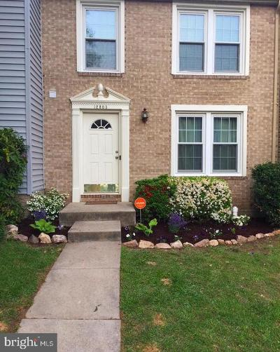 Woodbridge Townhouse For Sale: 12803 Frontier Lane