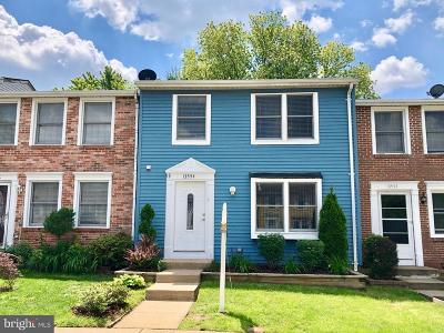 Woodbridge Townhouse For Sale: 13554 Bentley Circle