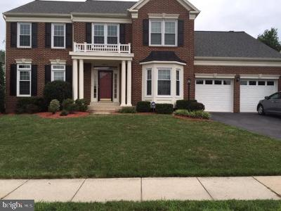 Prince William County Single Family Home For Sale: 16639 Caxton Place