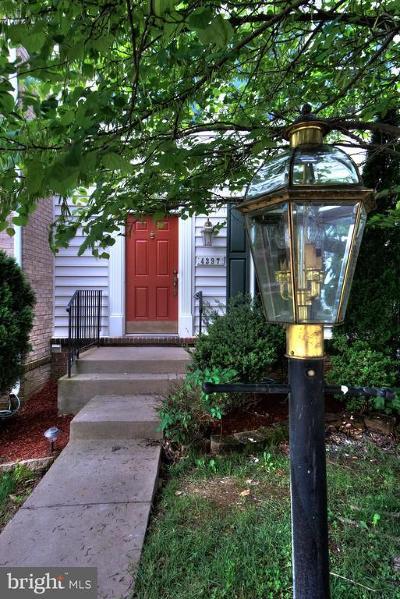 Dumfries Townhouse For Sale: 4397 Palton Drive