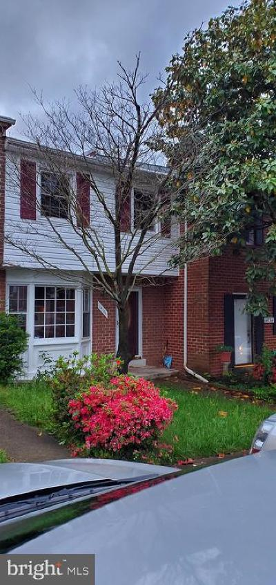 Dale City Townhouse For Sale: 14736 Endsley Turn