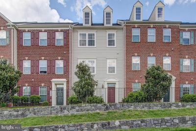 Woodbridge Townhouse For Sale: 12644 Stone Lined Circle