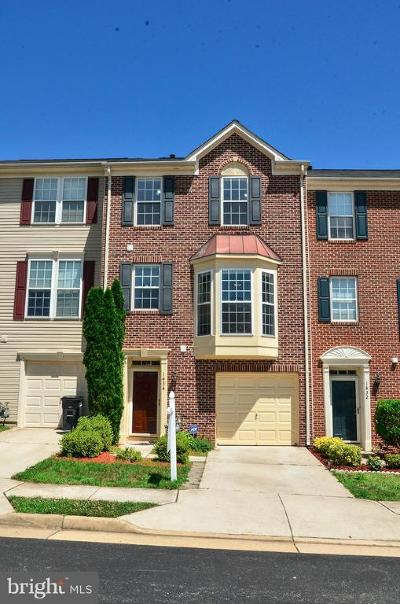 Woodbridge Townhouse For Sale: 1434 Bird Watch Court