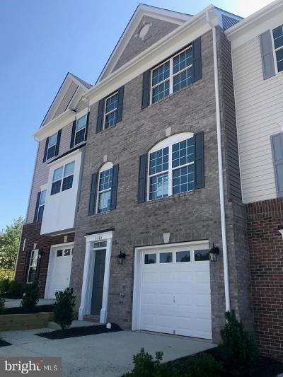 Prince William County Townhouse For Sale: 3348 Broker Lane
