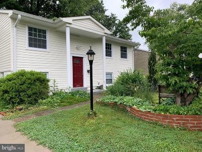 Woodbridge Townhouse For Sale: 13913 Gum Lane