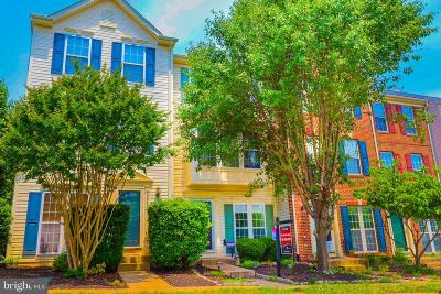 Bristow Townhouse For Sale: 9858 Maitland Loop