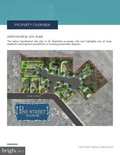 Manassas Residential Lots & Land For Sale: 7528, 7522, 7516, & 7510 Pine Street